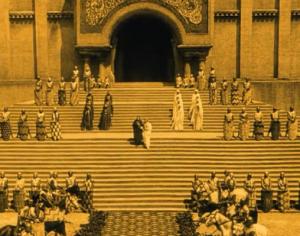 1923,Nibelungen.Domtreppe